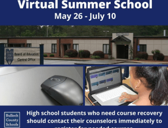 Bulloch County Schools to host virtual summer school for course recovery