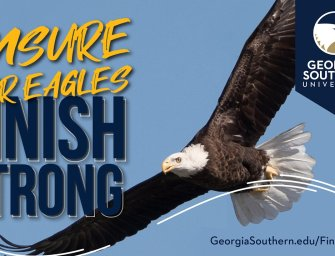 Georgia Southern launches 'Finish Strong' campaign to ensure Eagle success