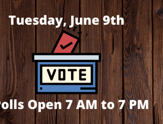 Polls Open 7 AM to 7 PM Statewide Tuesday, June 9th