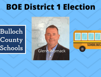 Glenn Womack Maintains Lead to Win Bulloch BOE District 1 Election