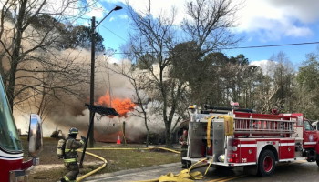 Brooklet House Fire