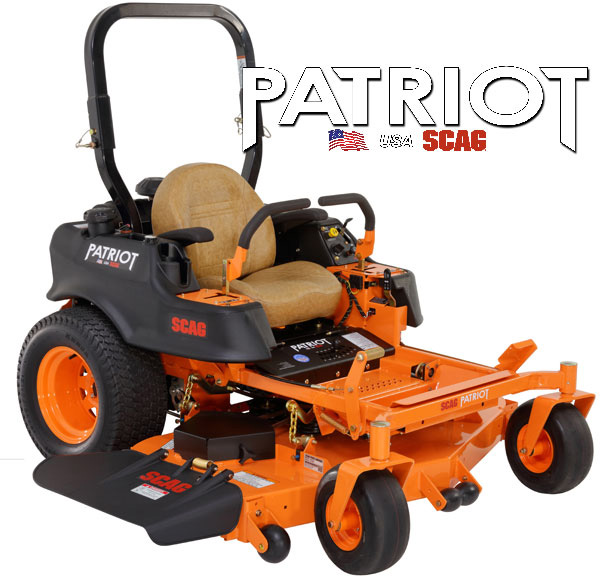 SCAG Patriot 52″