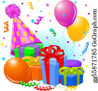Birthday Gifts Clip Art Royalty Free Gograph