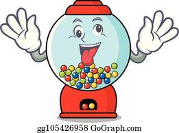 Bubble Gum Machine Clip Art Royalty Free Gograph