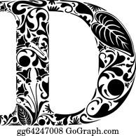 Letter D Clip Art Royalty Free Gograph