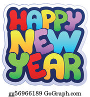Happy New Year Clip Art Royalty Free Gograph