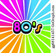 Download 80S Clip Art - Royalty Free - GoGraph