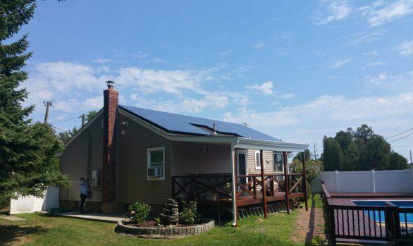 Long Island Solar Energy - Farmingdale NY Home Installation