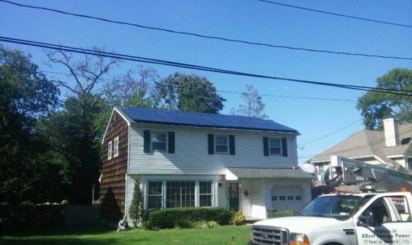 Long Island Solar Energy - Huntington Station NY Home Installation
