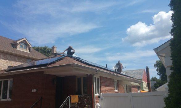 Long Island Solar Energy - Shirley NY Home Installation