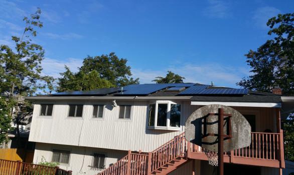 Long Island Solar Energy - Woodmere NY Home Installation
