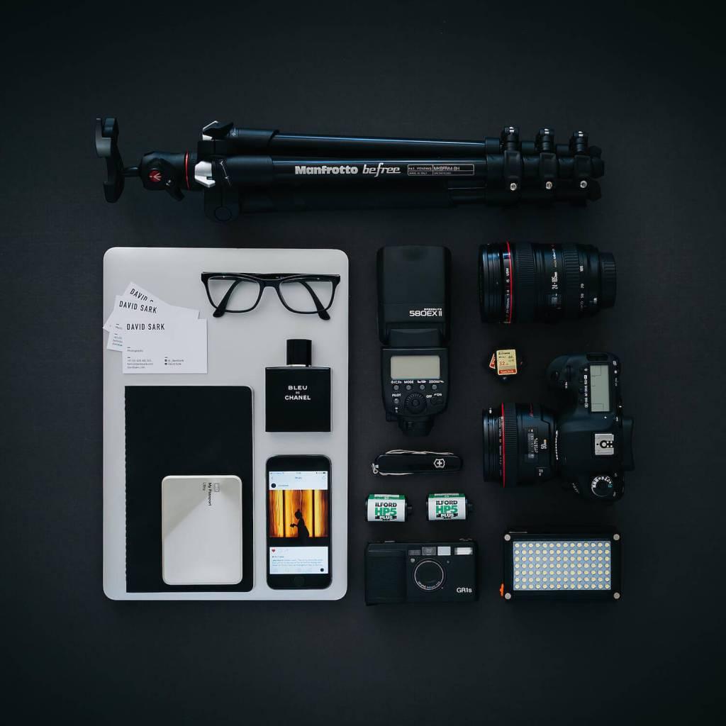 street photography gear with David Sark