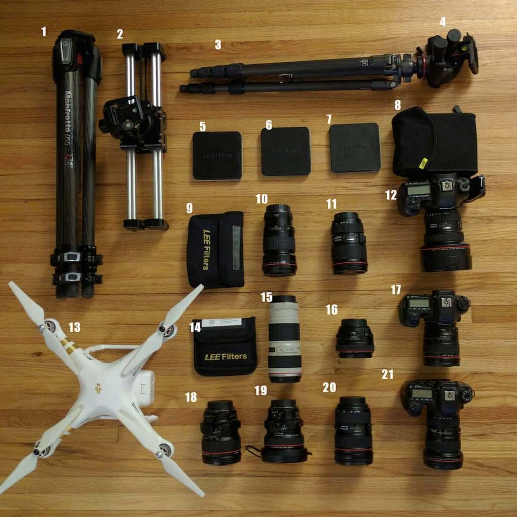 devon pastorius camera gear kit