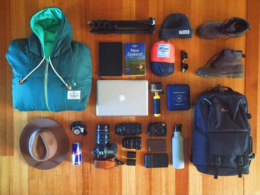 Jack brookes New Zealand Travel Essentials