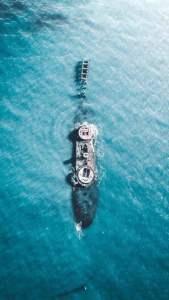 Boat Wallpaper Drone Photo
