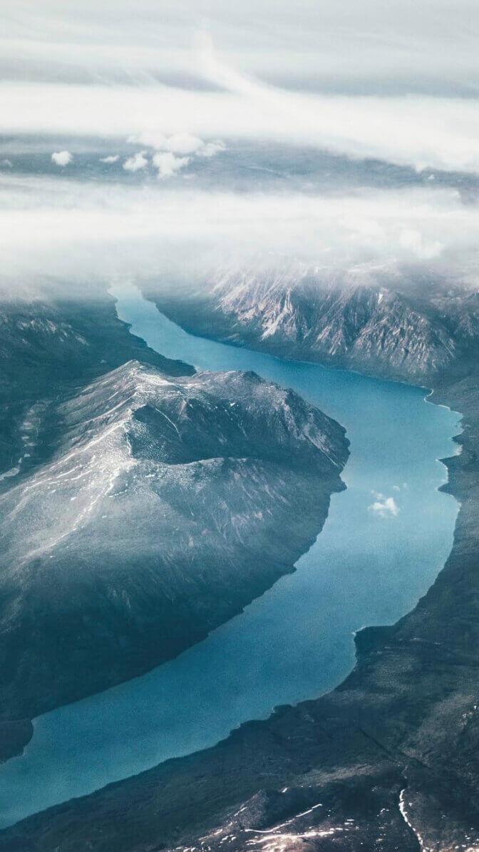 Lennart Drone Mountains