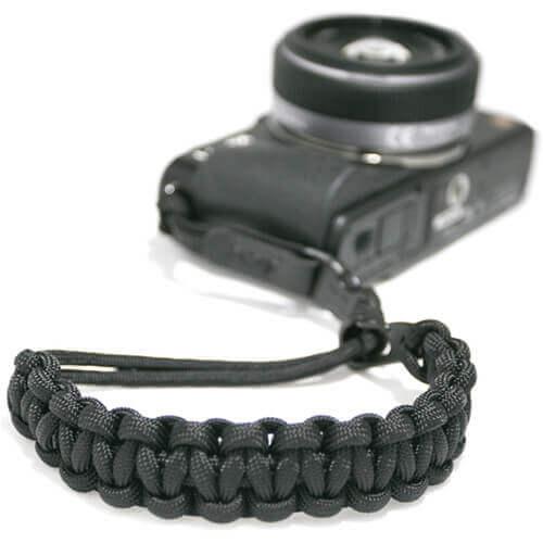 DSPTCH black camera wrist strap