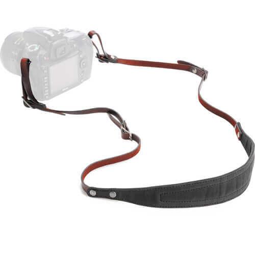 ONA lima leather camera strap
