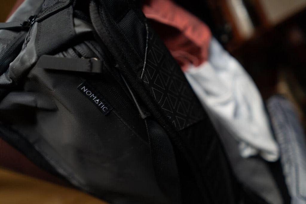 nomatic waterproof bag material