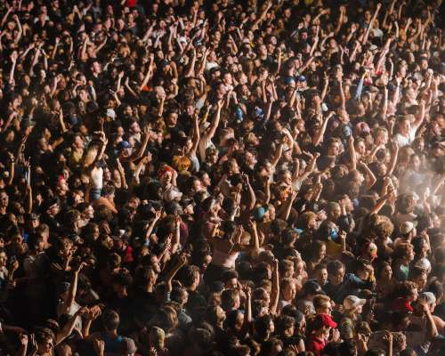 Brockhampton crowd