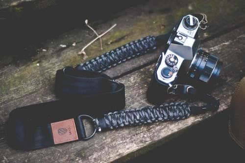 langly paracord camera sling strap