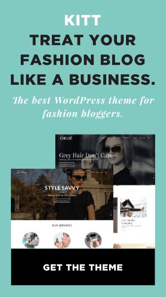 Kitt WordPress Theme For Fashion Blogs Ad