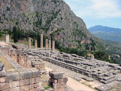 Orakel in Delphi