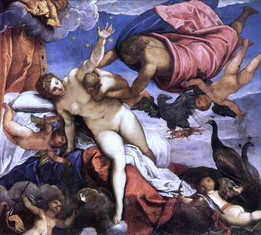 Die Entstehung der Milchstraße (Gemälde von Jacopo Tintoretto, 1575)..jpg