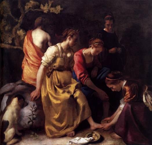 Η Άρτεμη και οι συντρόφισσές της. Vermeer, Johannes, 1655-1656 Mauritshuis Royal Picture Gallery - The Hague.jpg