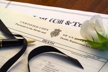 Last Will and Death Certificate