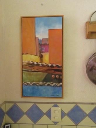 Santa Fe or La Manzanilla? This painting has to look familiar to anyone familiar with Mexico.