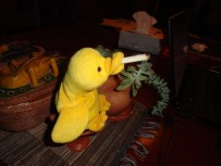 Then a puff on his daily vice,
