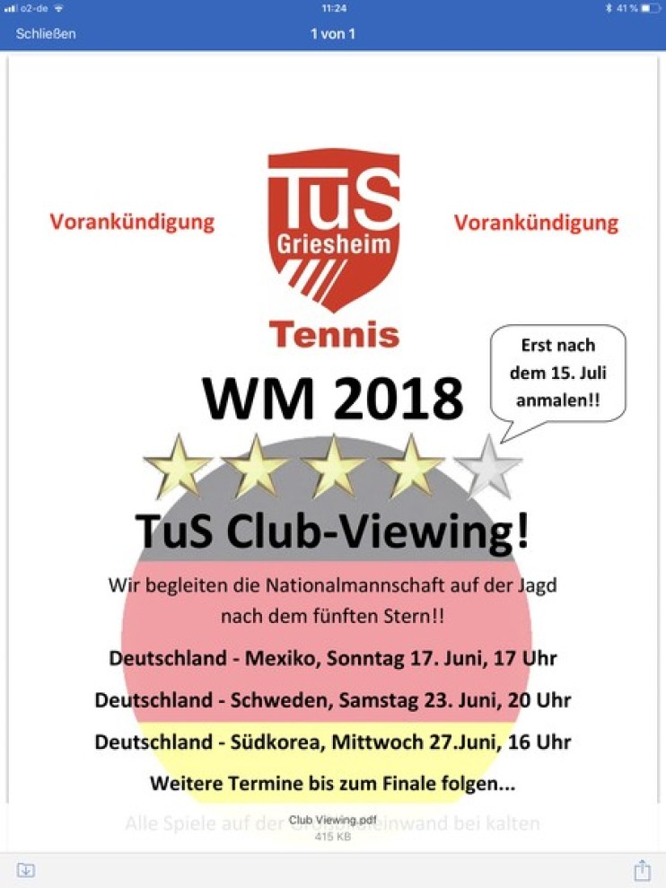 Clubviewing