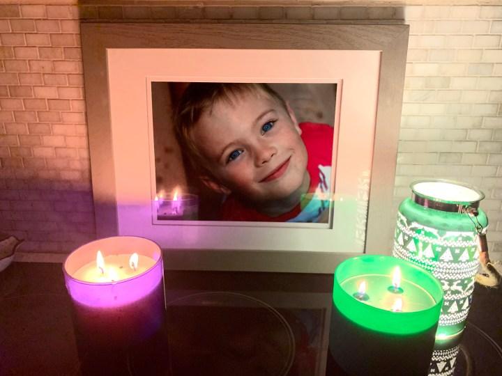 chandelle en mémoire enfants - candle is memory of children died