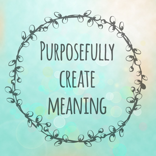 "Purposefully Create Meaning - from the book ""Grieving Parents: Surviving Loss as a Couple"" by Nathalie Himmelrich"