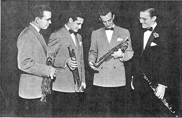 1937 BG Band Chris Griffin, Harry James, Ziggy Elman, Benny Goodman