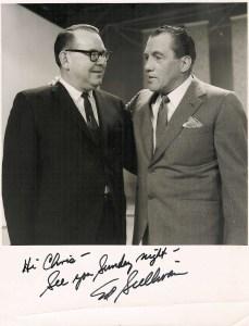 Chris With Ed Sullivan