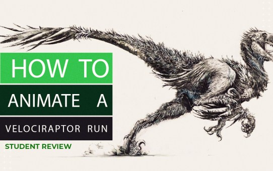 How to Animate a Velociraptor Run - Student WIP Review