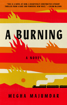 "Image of book jacket for ""A Burning""."