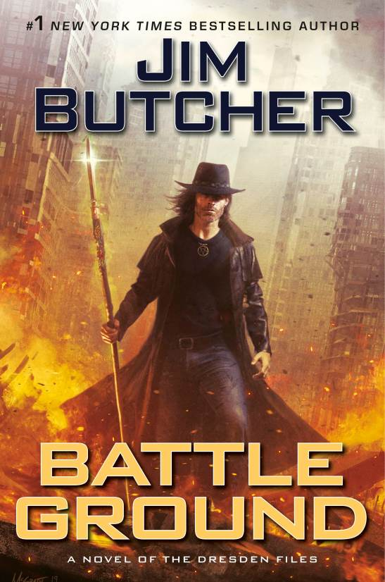"Book jacket cover image for ""Battle Ground""."