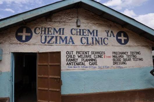 NBC's clinic in Kibera, called Chemi Chemi.