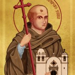 Icon of Saint Junipero Serra