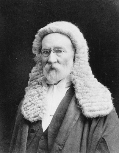 Sir Samuel Griffith - Portrait in Judges Attire | Griffith ...