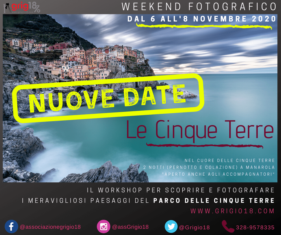 Workshop di fotografia in Liguria: le Cinque Terre