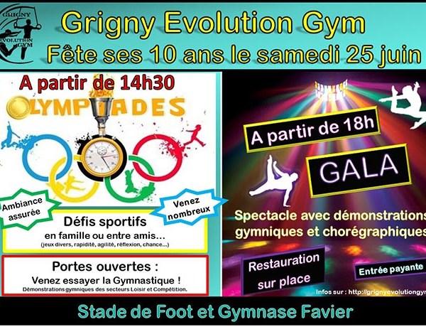 Grigny Evolution Gym fête ses 10 ans !