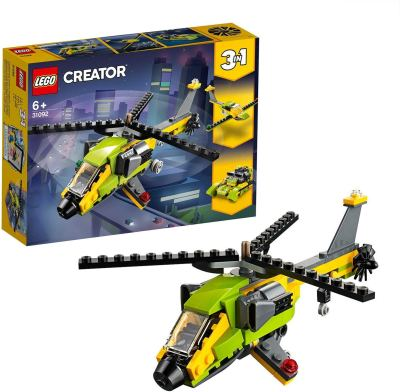 LEGO Creator Helicopter Adventure Building Blocks