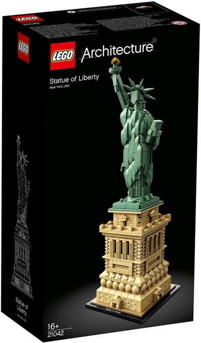 LEGO Architecture Statue of Liberty Building Blocks