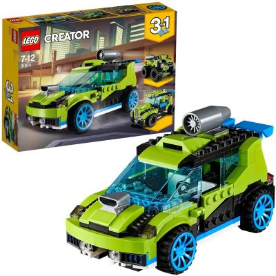 LEGO Creator 3in1 Rocket Rally Car Building Blocks