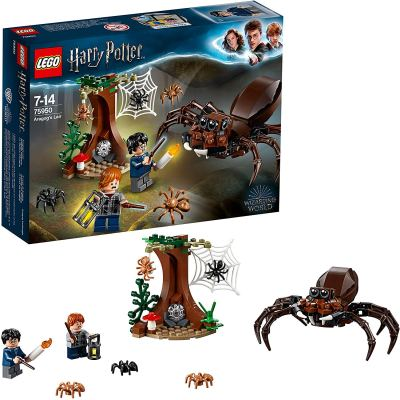 LEGO The Chamber of Secrets Aragog's Lair Building Blocks