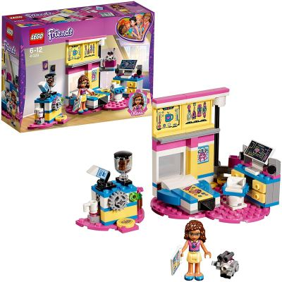 Lego Friends Olivia's Deluxe Bedroom Building Blocks